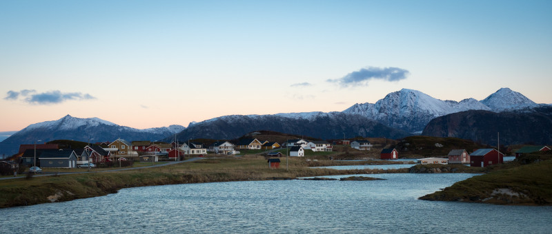 Sommarøy - little island in northern Norway