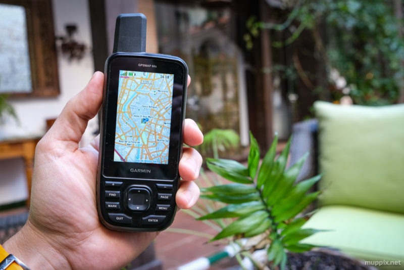 Front-on image of Garmin's new GPSMap 66s